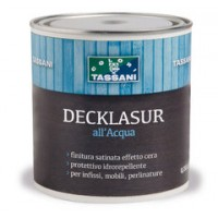 Colori intensi - Decklasur all'Acqua TASSANI