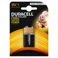 Confezione da 1 pila 6LP3146 / MN1604 Duracell Plus Power 9V