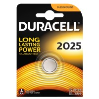 Batterie a Bottone 2025 al Litio DURACELL