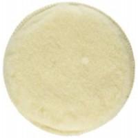 Cuffia in lana d'agnello con fissaggio velcro per lucidare rapidamente metallo, legno, vetro e marmo
