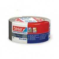 TESA Extra Power Universal Nastro Americano multiuso in tessuto plastificato nero 25 mt x 48 mm. Colore Nero.
