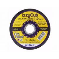 Unifix IZZYCUT mola da taglio, 115 x 1,0 x 22,23