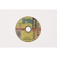 IMA mola abrasiva minidisco disco per taglio legno Ø mm 115x1,6x22 flex