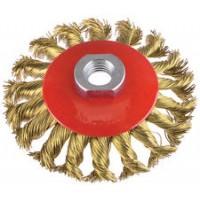 Spazzola circolare conica filo d'acciaio Pg professional