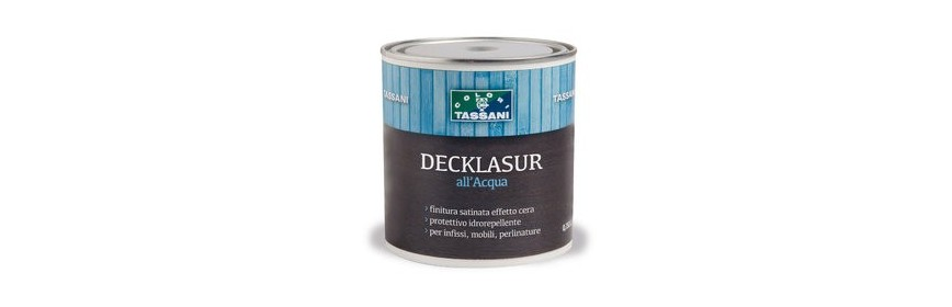 Decklasur all'Acqua